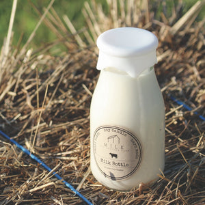 Milk Bottle 12.5oz Candle