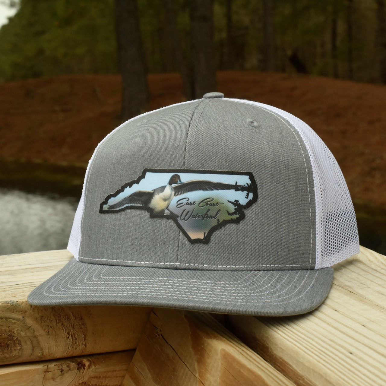 North Carolina Pintail State Patch - Trucker Hat