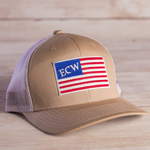 American Flag - Trucker Hat