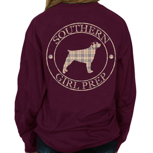 SGP Plaid Logo - Long Sleeve Shirt