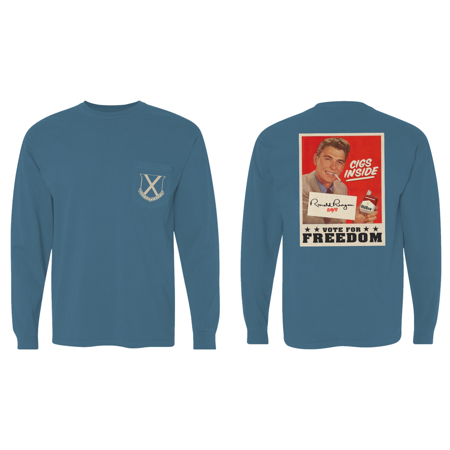 Cigs Inside Reagan - Long Sleeve