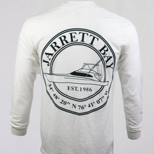 Coastal Boat Icon  - Long Sleeve