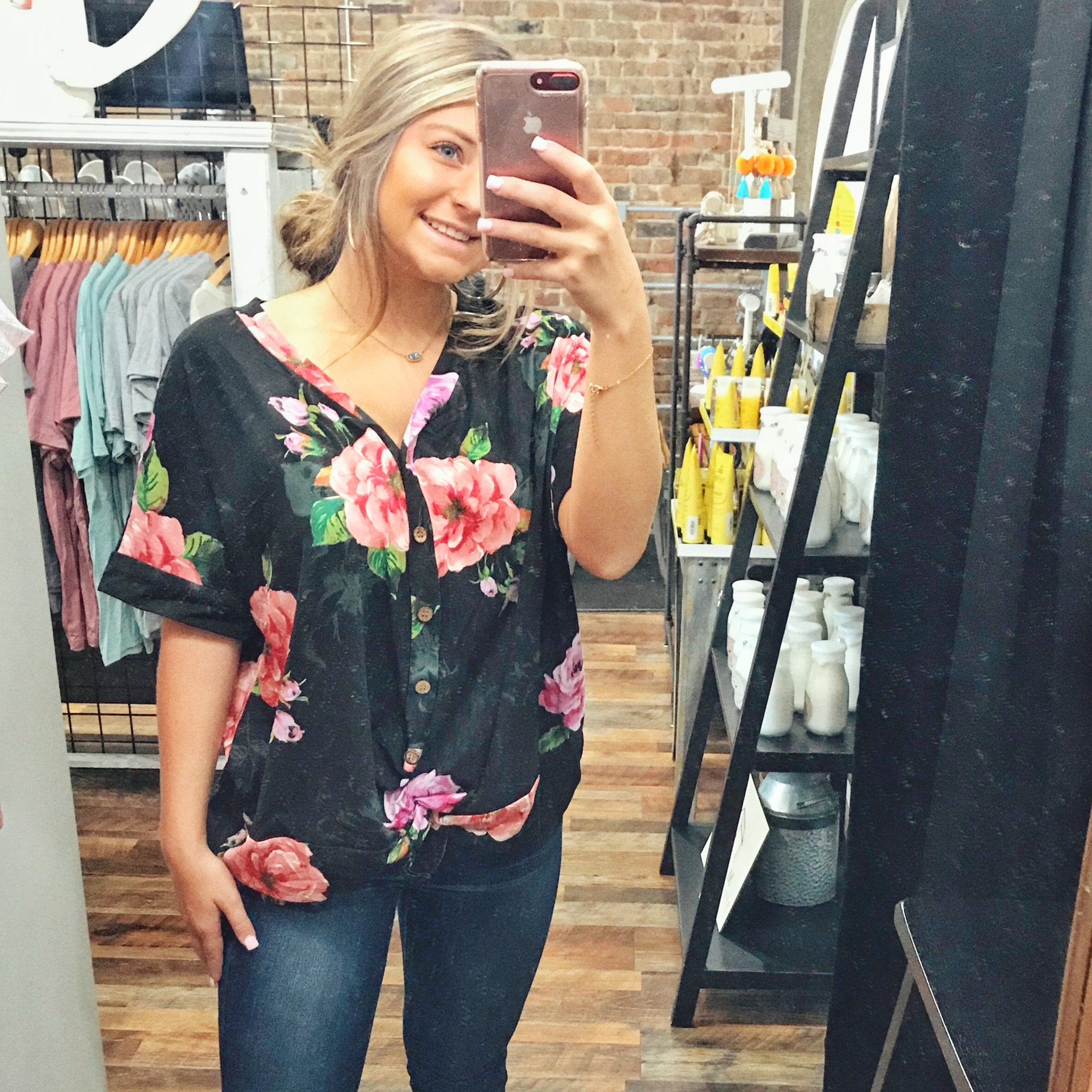 Cherished Dreams Floral - Top