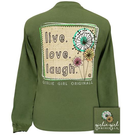 Live Love Laugh - Long Sleeve