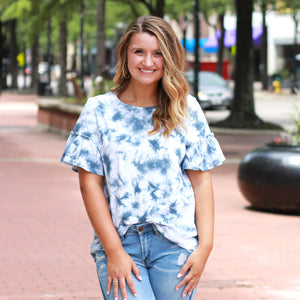 Dream Chaser Tie Dye - Top - Navy