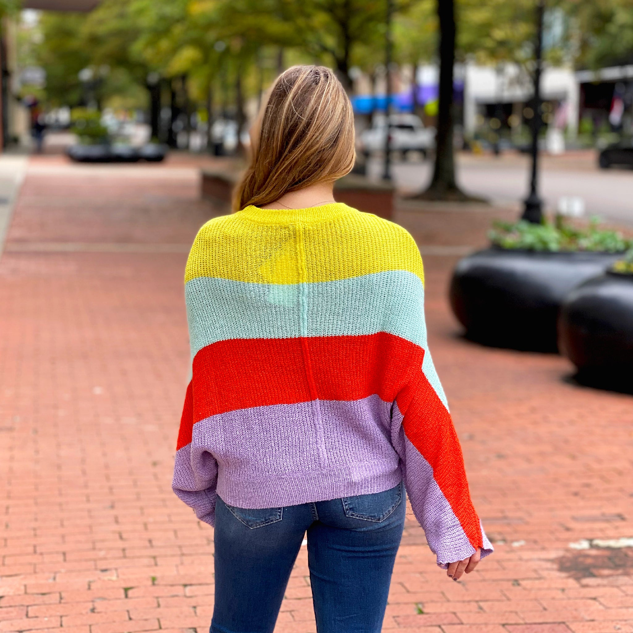 Full Of Color Sweater - Top