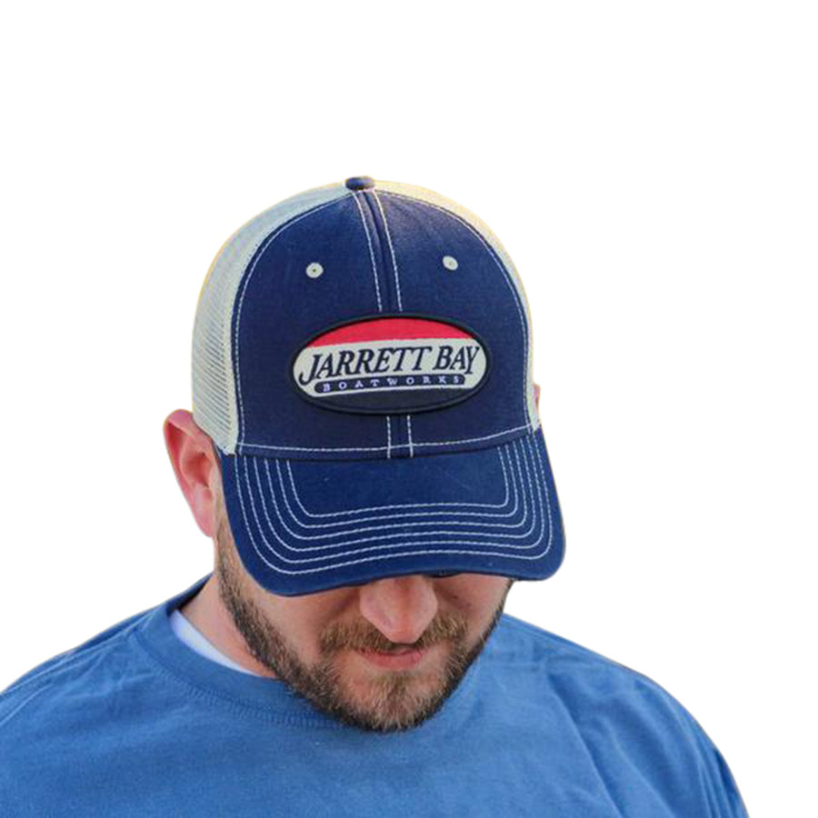 Jarrett Bay Service Patch - Trucker Hat