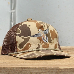 Old School Camo Dove - Trucker Hat