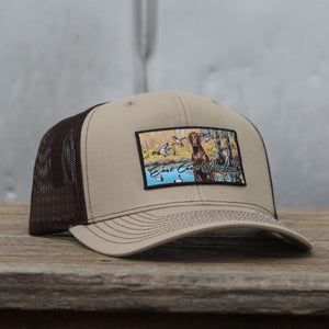 Chocolate Lab Patch - Trucker Hat