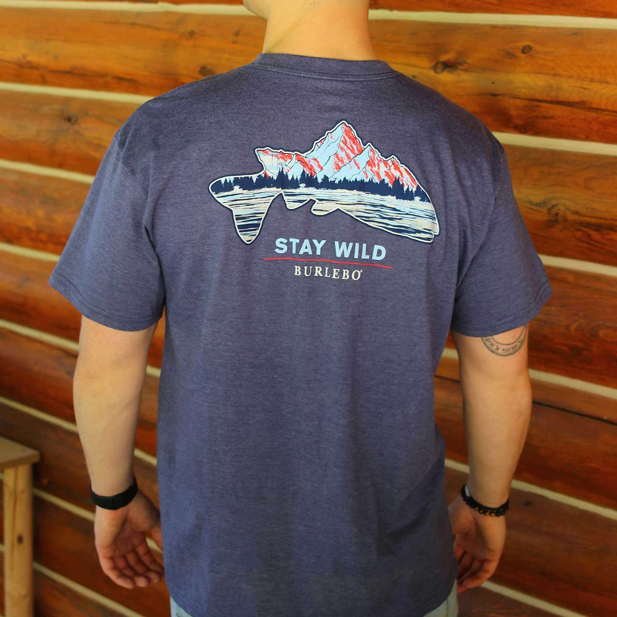 Stay Wild - Short Sleeve