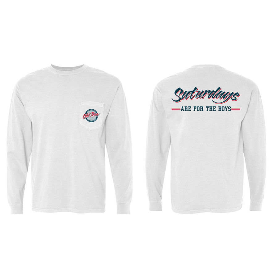 Saturdays are for the Boys - Long Sleeve