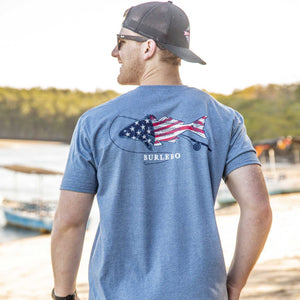 USA Red Fish - Short Sleeve
