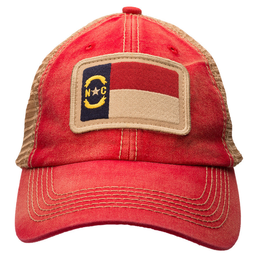 North Carolina State Flag - Trucker Hat