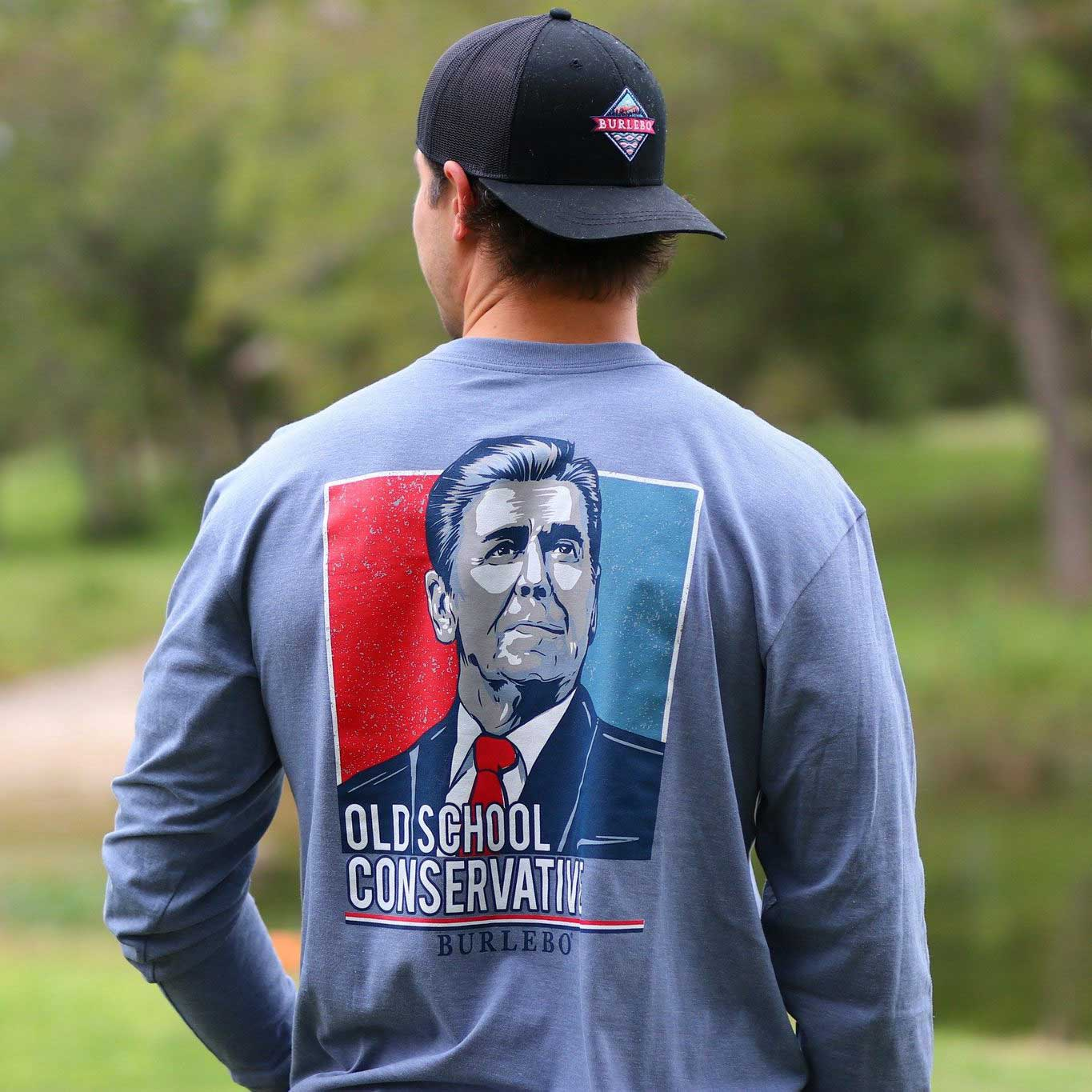 Old School Conservative - Long Sleeve