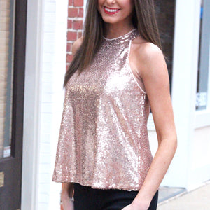 Shine Bright Sequin - Top