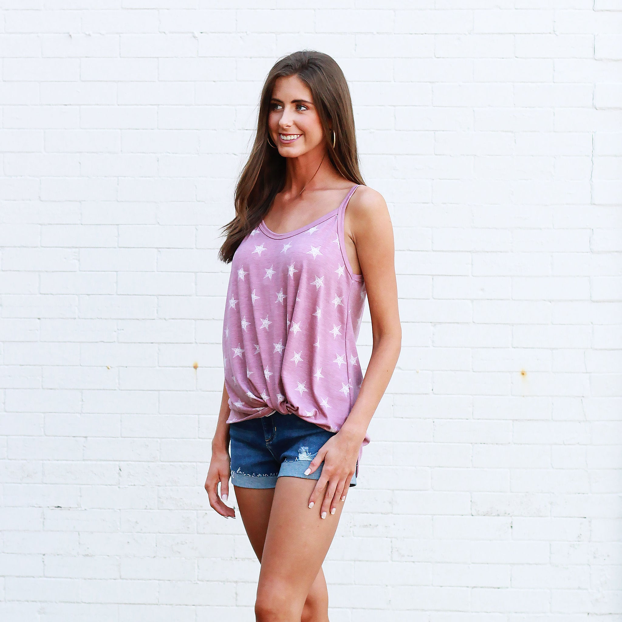 Star Struck Cami - Top - Mauve
