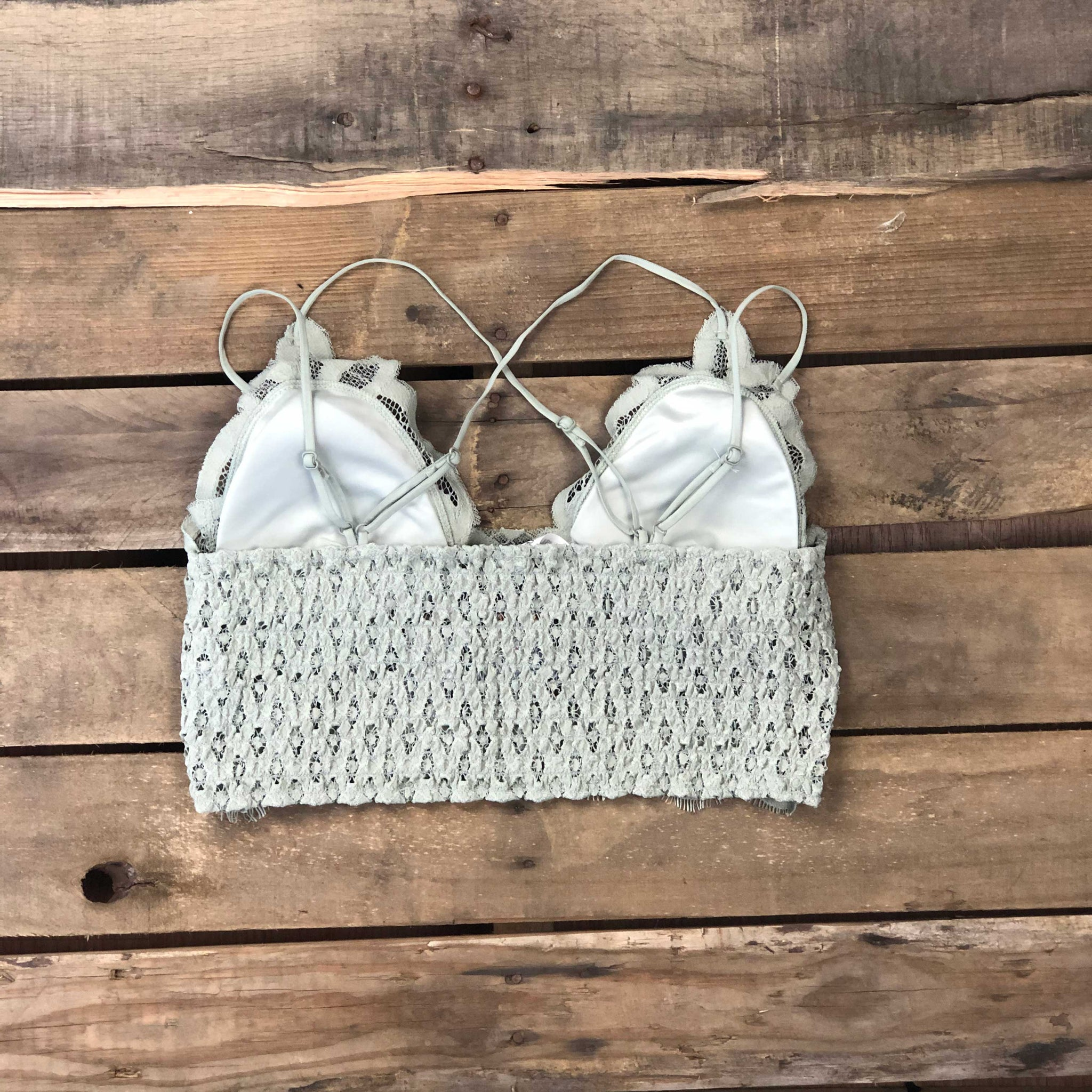 Nothing But Destiny Lace - Padded Bralette