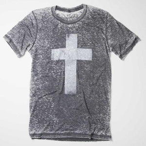 Distressed Cross - Short Sleeve
