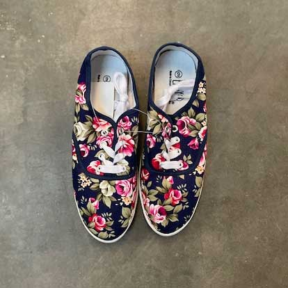 Follow Your Heart Floral - Sneaker