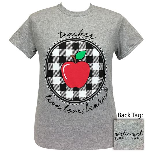 Teacher Plaid - Short Sleeve