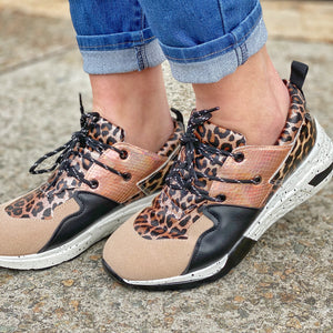 Born To Be Wild Leopard - Sneaker