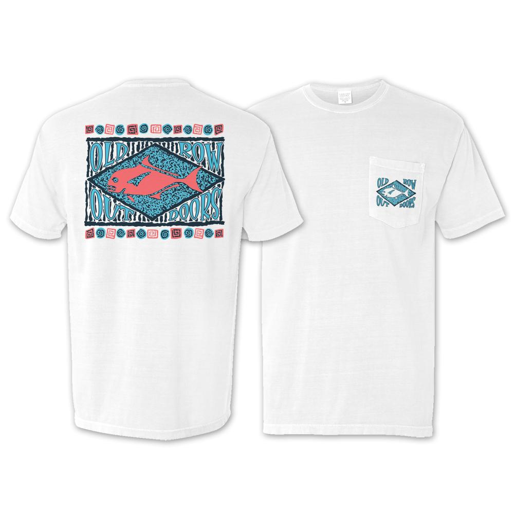Old Row Outdoors 90s Angler - Short Sleeve