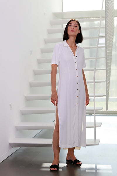 short sleeve shirt - dress