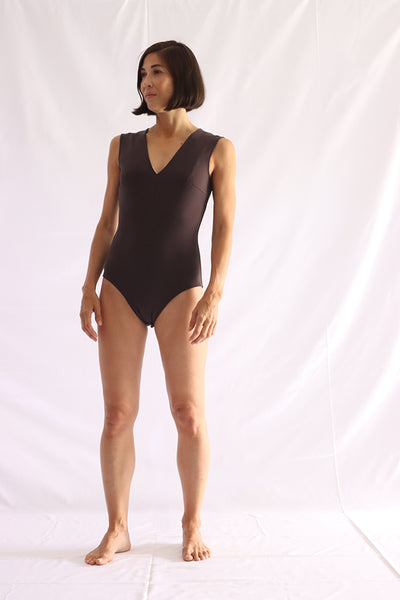 recycled knit bodysuit