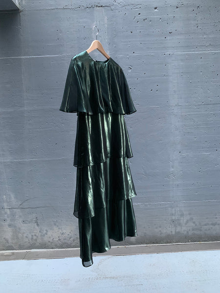 dark green medusa dress