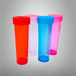 27-90 Screw Top Plastic Sample Jars Containers (100 Pieces)