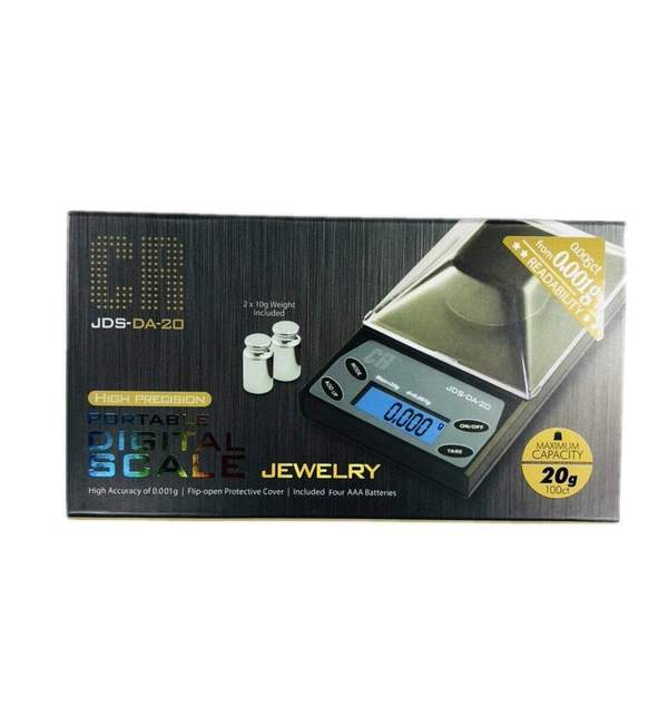 CR SCALES - JDS DA-20 0.001G