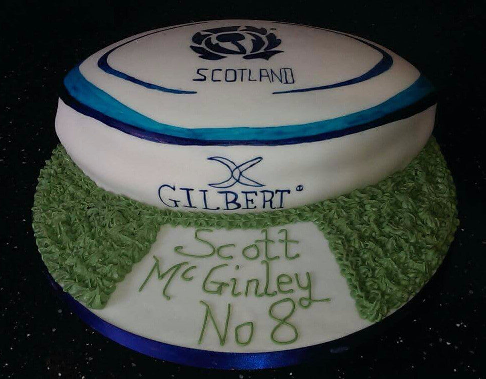 Rugby Ball Cake Miss Ds Cakes