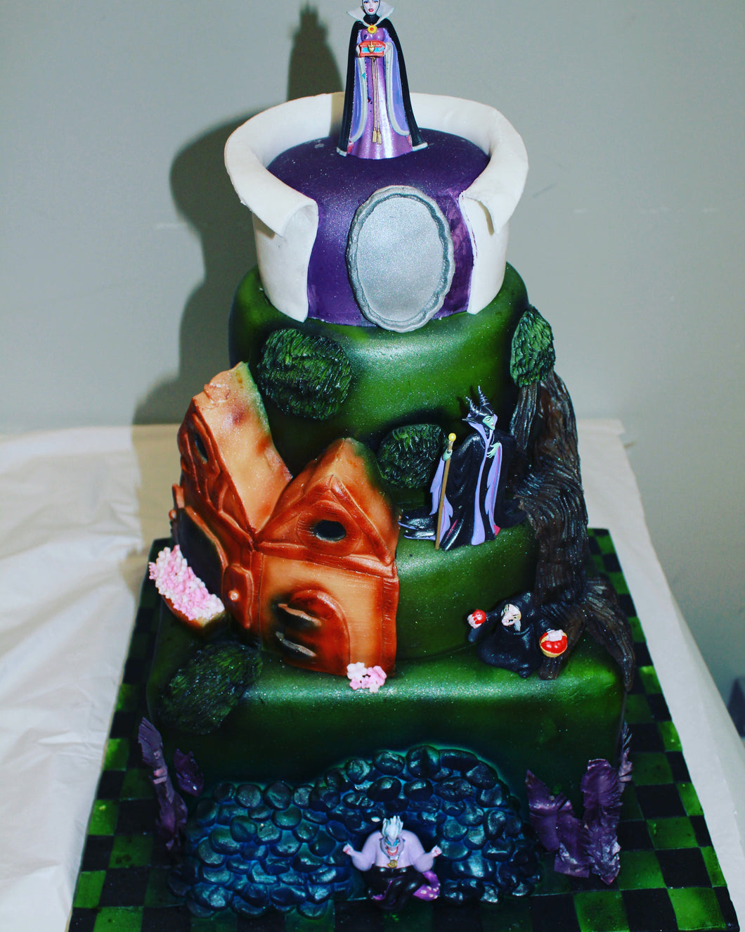 disney villains cake Miss Ds Cakes