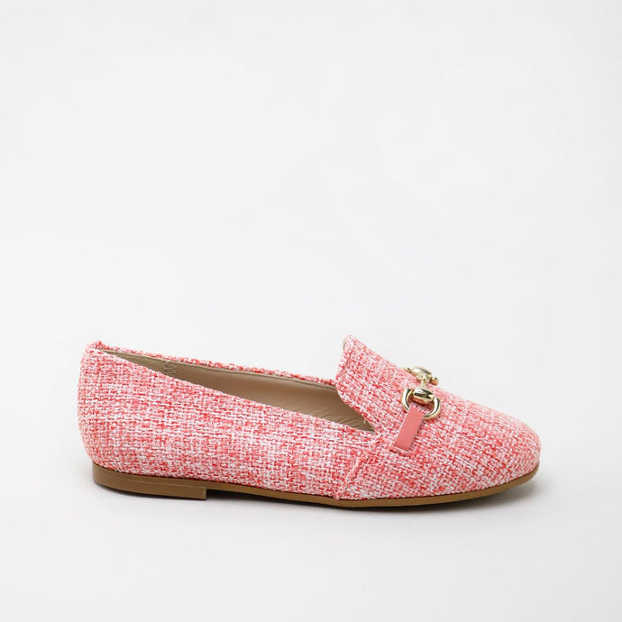 Papanatas Coral Linen Loafer