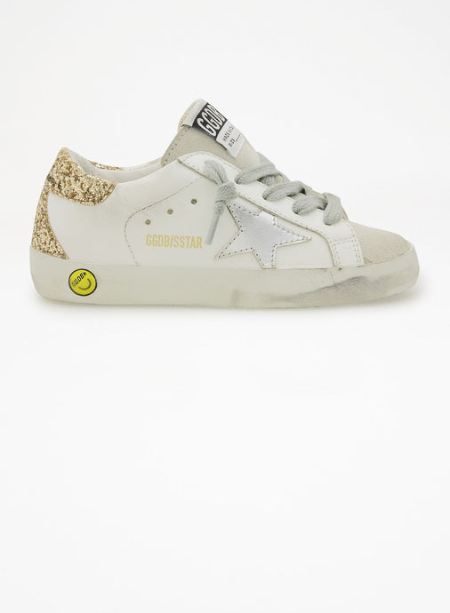 Golden Goose Glitter Back Sneaker