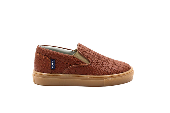 Atlanta Camel Slip-on Sneaker