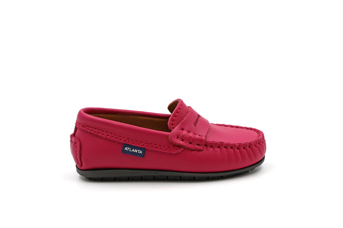Atlanta Fuchsia Penny Loafer