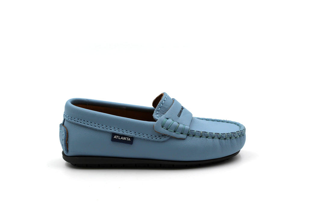 Atlanta Sky  Blue Penny Loafer