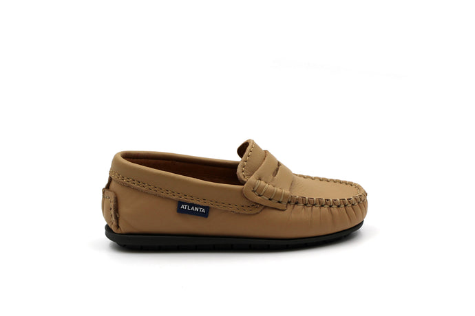 Atlanta Beige Penny Loafer