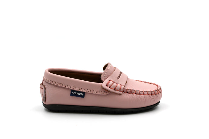 Atlanta Pink Penny Loafer