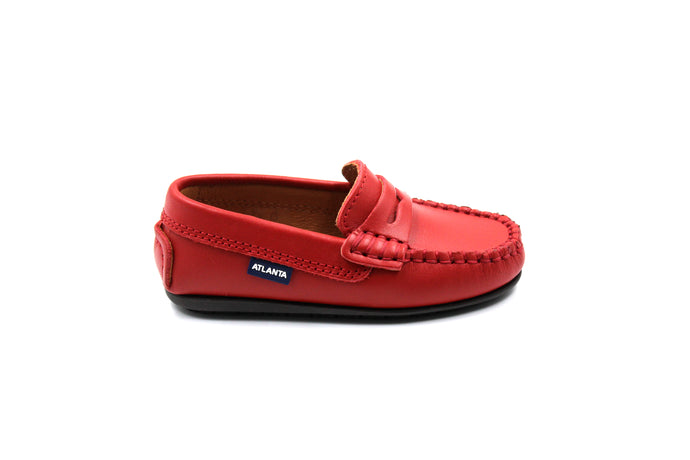Atlanta Red Penny Loafer