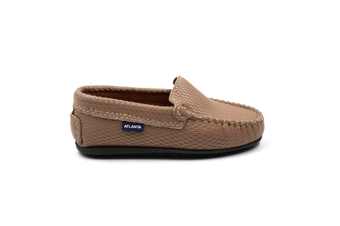 Atlanta Beige Loafers