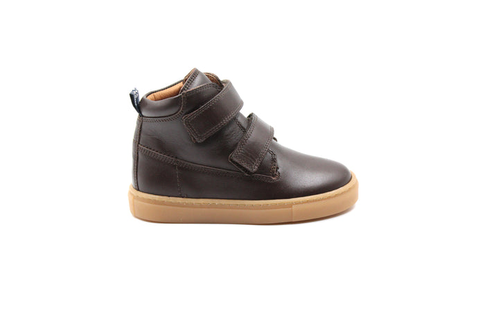 Atlanta Brown Children's Hi-Top Sneaker