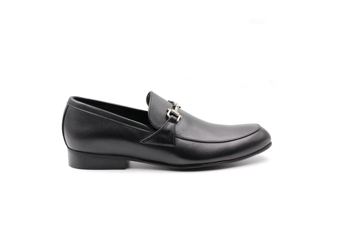 Atlanta Black Buckle Dress Shoe