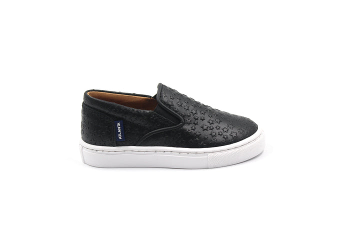 Atlanta Black Star Slip On Sneaker