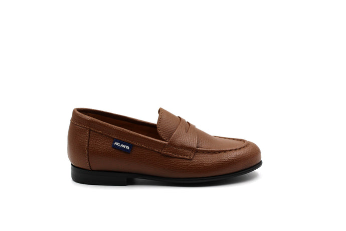 Atlanta Camel Penny Dress Shoe