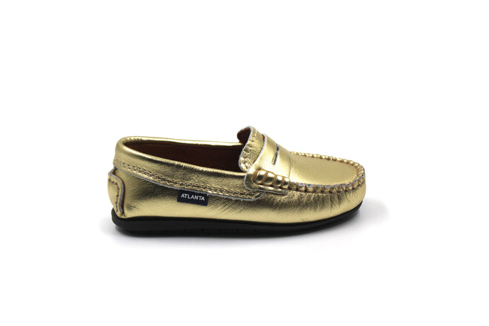 Atlanta Gold Penny Loafer