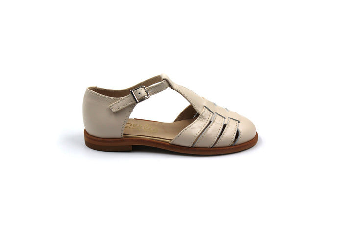 Beberlis Beige Girls Sandals Shoes
