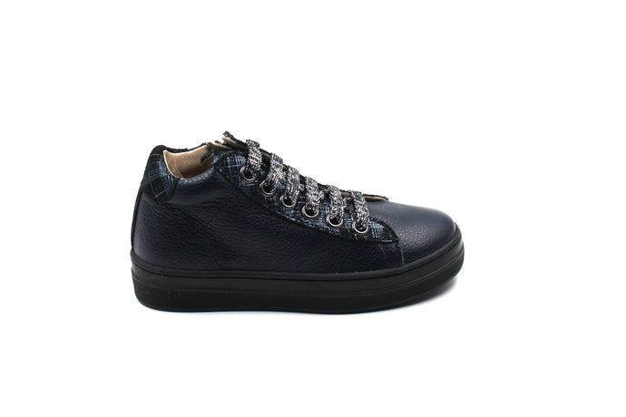 Beberlis Navy High Top Sneaker