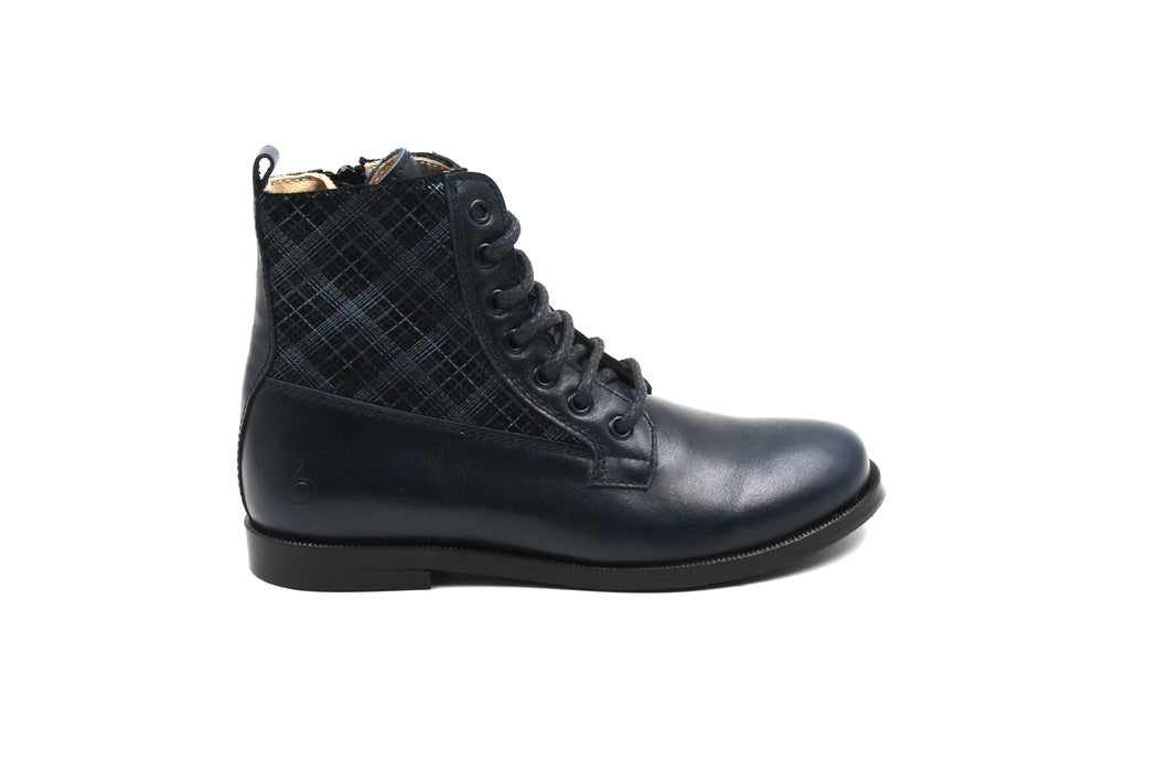 Beberlis Navy Blue Ankle Boot